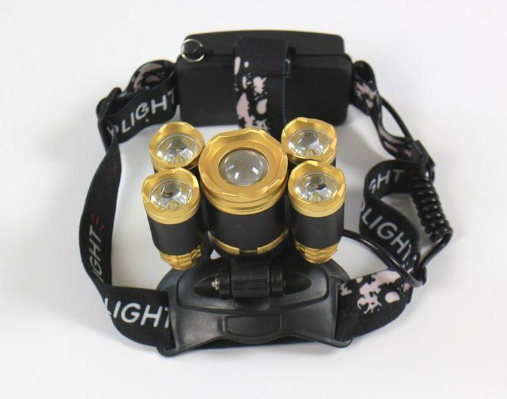 Lampe frontale avec 5 LEDs lampe charlie vous présente
