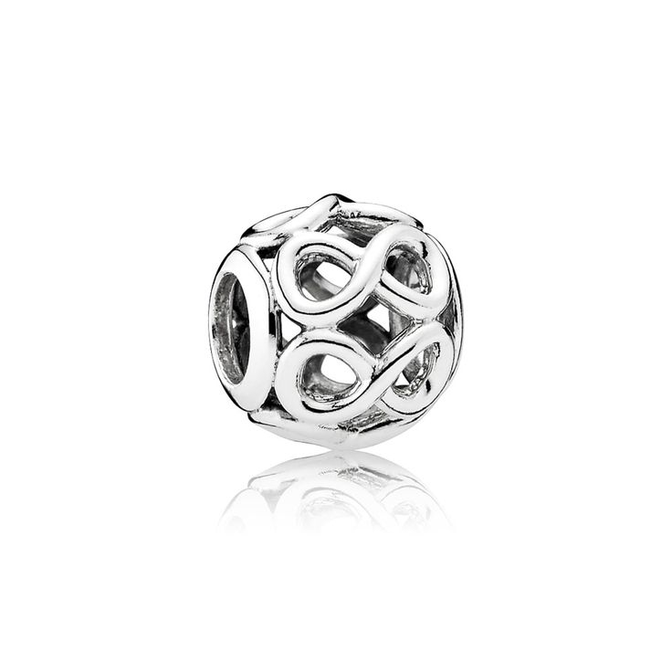 Infinity loop: PANDORA offers more than 600 sparkling charms in silver, gold, and two-tone. Find the perfect charm to represent life's special moments.