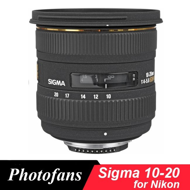 (467.00$)  Know more  - Sigma 10-20 mm f/3.5 EX DC HSM wide angle Lens For Nikon D3200 D3300 D3400 D5500 D5200 D5300 D5600 D90 D7100 D7200 D300 D500