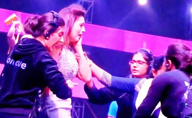 Gauhar Khan paid to get slapped? - read complete story click here.... http://www.thehansindia.com/posts/index/2015-01-06/Gauhar-Khan-paid-to-get-slapped-124626