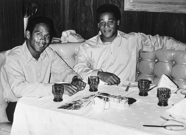 O.J. Simpson and Al Cowlings  1970