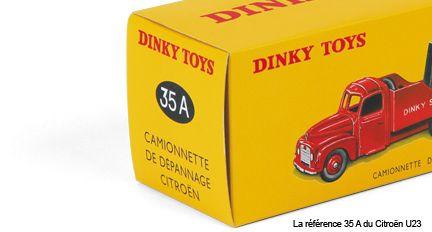La reproduction de la Citroën U23 dépannage