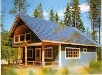 casas con paneles solares en el campo - Buscar con Google