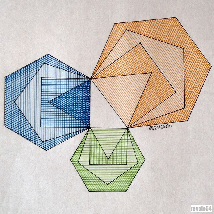 #geometry #symmetry #mathart #regolo54 #triangle #hexagon #escher #mandala #mathart #triangle #square