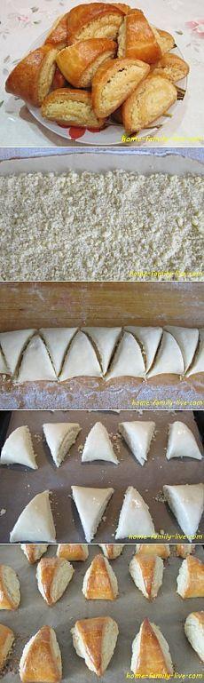 Булочка Кята - пошаговый рецепт с фотоКулинарные рецепты