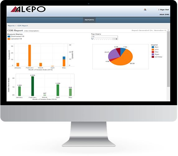Optimize your network performance with Alepo's Carrier-Grade AAA – an industry-leading solution built for wireline, WiFi, and 3GPP mobile networks alike.