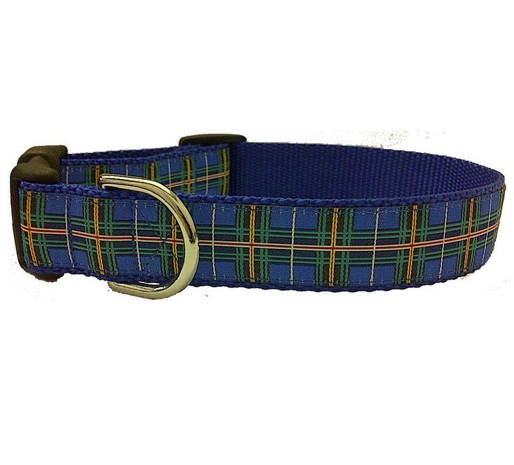 Nova Scotia Tartan Dog Collars