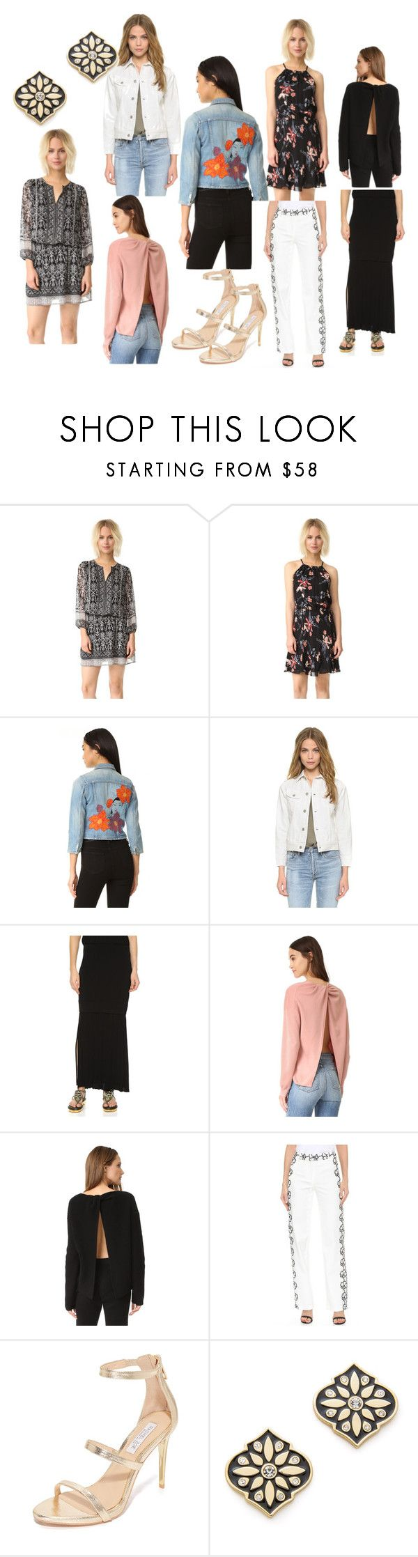 """fashion collection sale"" by monica022 ❤ liked on Polyvore featuring Joie, Citizens of Humanity, Josh Goot, Theory, Emanuel Ungaro, Rachel Zoe, Kate Spade and vintage"