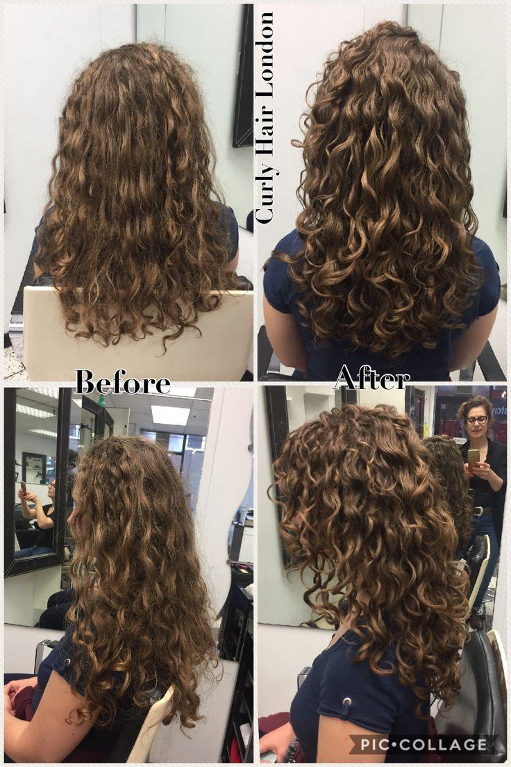 Dry cut -curly hair London