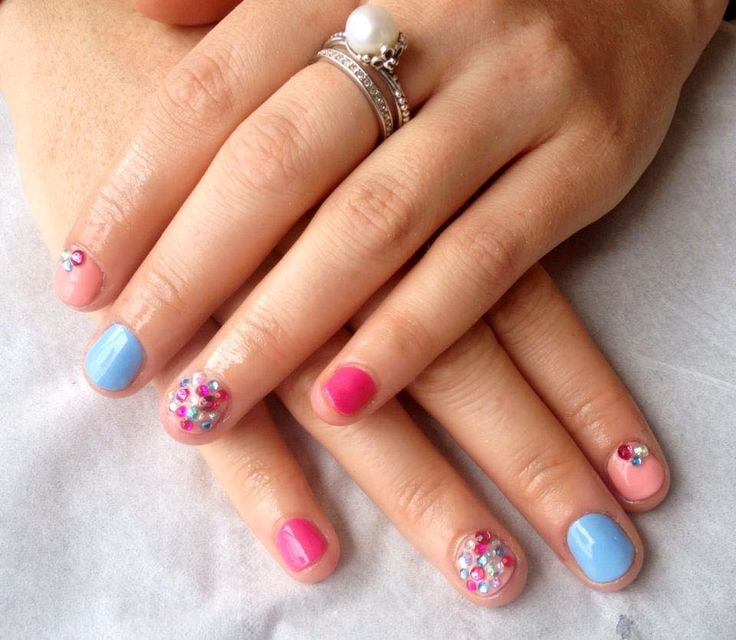 9 best Gel polish on natural nails images on Pinterest | Gel nail ...