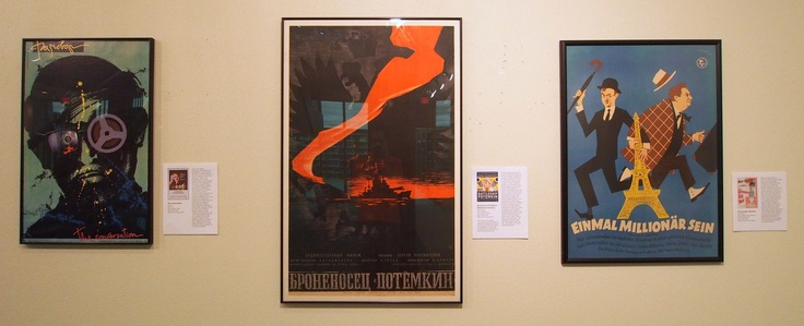 The Conversation, Battleship Potemkin (Russian posters) & The Lavender Hill Mob (East German poster)