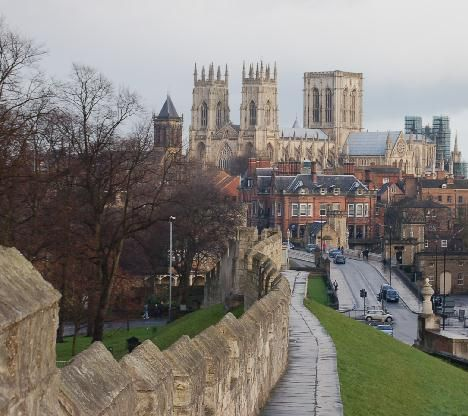 York Minster | and city walls