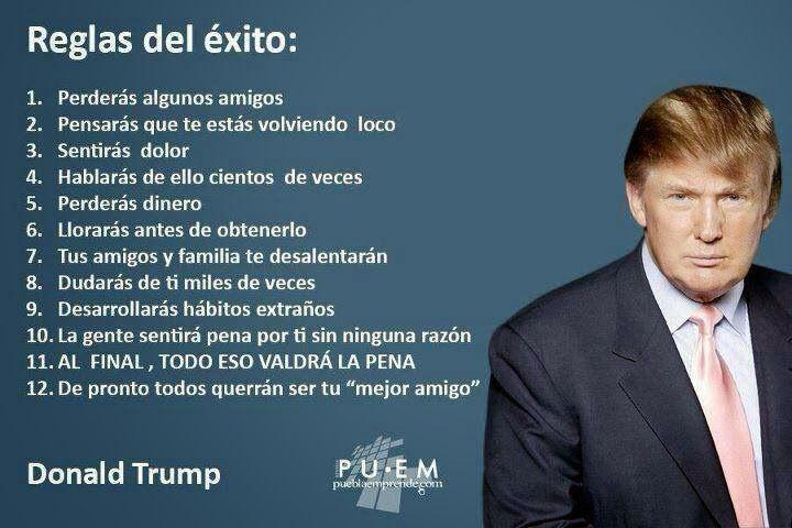 Reglas del Éxito - Donald Trump