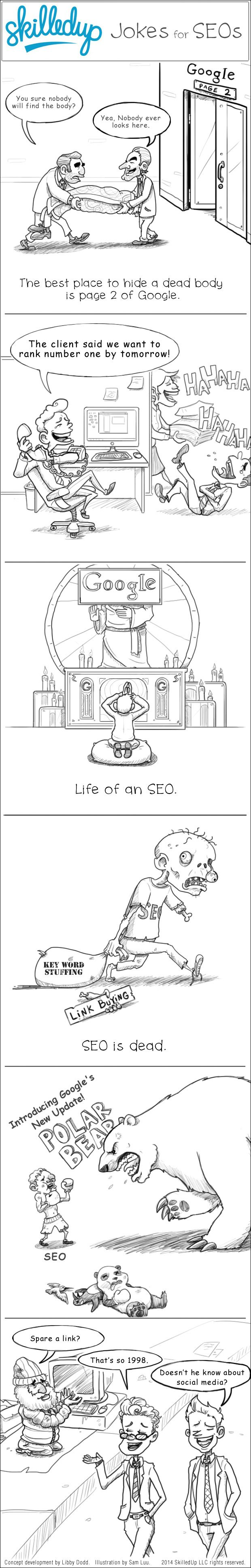 Seeing the funny side of #SEO!