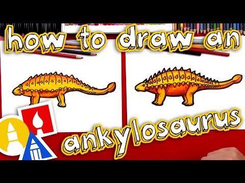 How To Draw An Ankylosaurus - YouTube