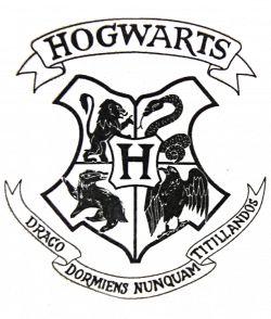 Download svg library download Transparent crest file from. Hogwarts ...