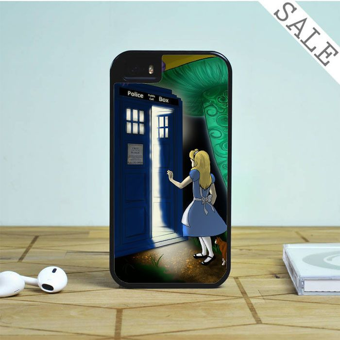 Alice in Wonderland Tardis For iPhone | Samsung Galaxy | HTC Case