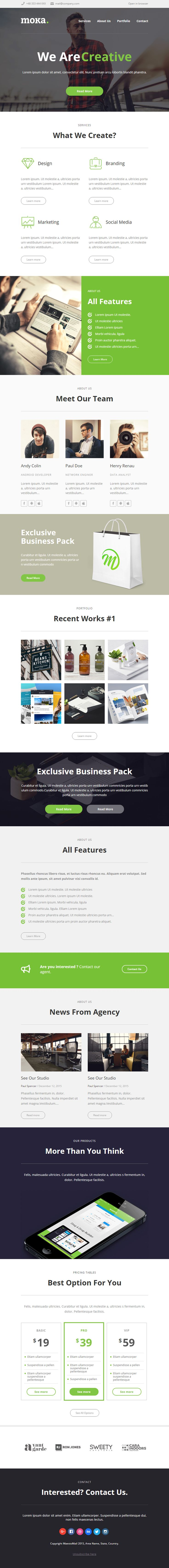 1000 ideas about free html email templates on pinterest html email templates email