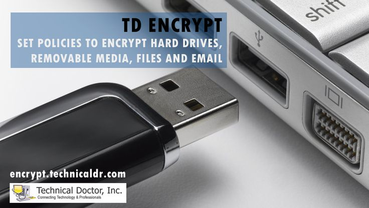 Set Secure Policy To Encrypt Your Data Store. http://encrypt.technicaldr.com/