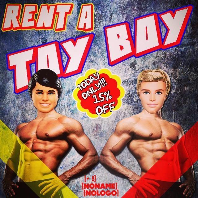 Rent a TOY BOY!!! #nonamenologo #marketing #webmarketing #neuromarketing #comunicazione #eventi #fano #marche #italia #rent #toyboy #friend #man #picoftheday #follow #amazing #crazy