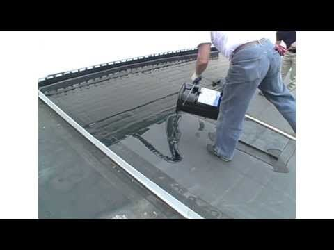 Manual Application Guidelines For Liquid Rubber And Liquid Roof a EPDM coating. - YouTube