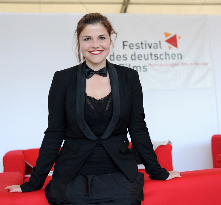 """Schauspielerin Katharina Wackernagel stellte den von ihr produzierten Film """"A silent Rockumentary"""" vor. Foto: Ben Pakalski."""