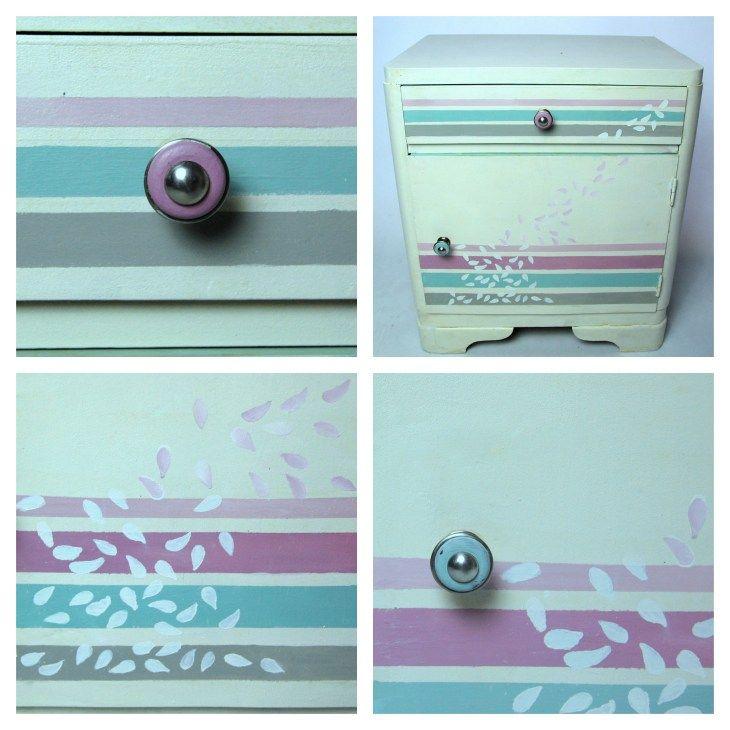 Malowanie krok po kroku - nietypowa szafka dla dziecka! - Izabela Lea eS.