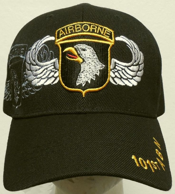 NEW U.S. ARMY SCREAMING EAGLE 101ST AIRBORNE ABN DIVISION DIV JUMP WINGS CAP HAT #HIGHPREMIUMHATS #BaseballCap
