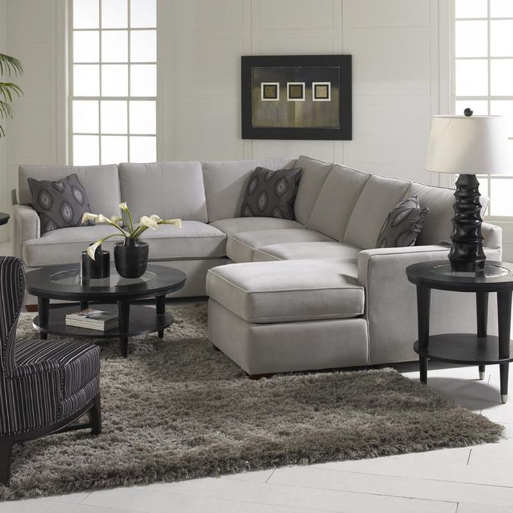 Klaussner Loomis Sectional Sofa Group with Chaise Lounge - AHFA - Sofa Sectional Dealer Locator : light gray sectional sofa - Sectionals, Sofas & Couches