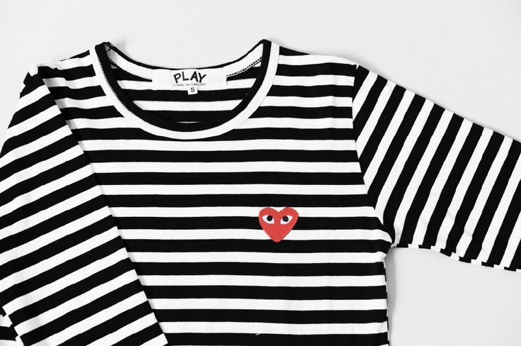 Striped shirt.  http://flora.metromode.se