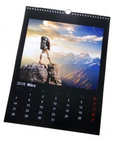 Foto Wandkalender 28x38cm Hochformat online bestellen