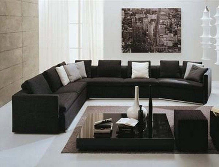 black and walnut living room furniture