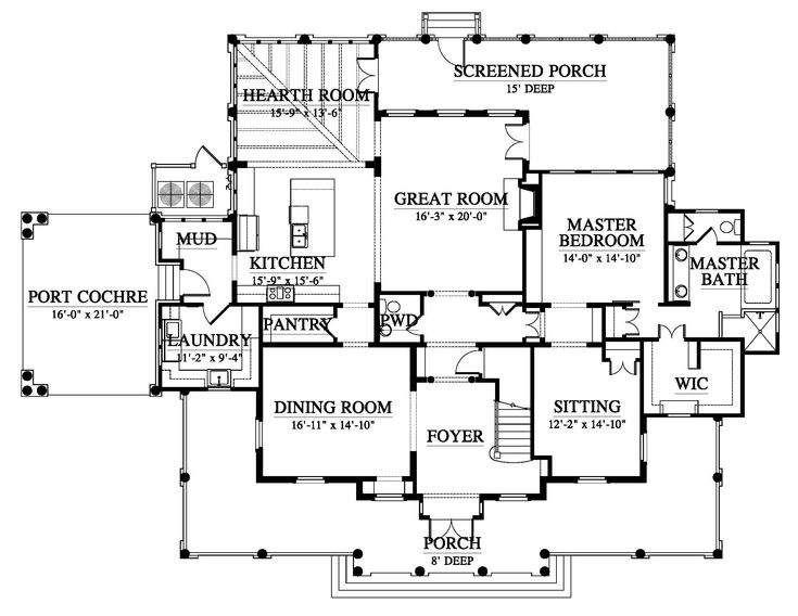 18 best habersham house plans images on pinterest for Habersham house plans