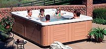 64 best hot tubs spas decks images on pinterest for Accents salon chagrin falls