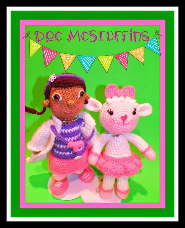 Connie's Spot© Crocheting, Crafting, Creating!: Doc McStuffins and Lambie Inspired Free Pattern©