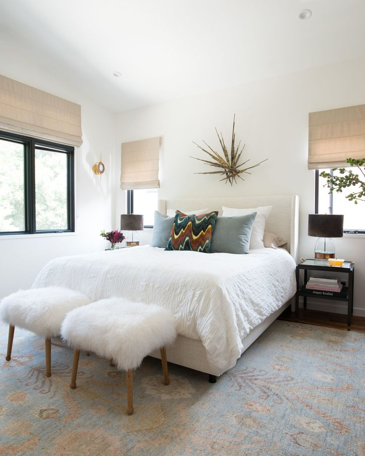 You'll never believe what this bedroom used to look like. Click to see this incredible bedroom makeover!
