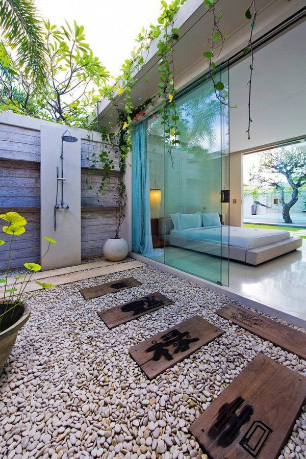 Asian inspired Luxury Outdoor Shower 12 best