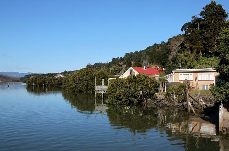 Kohukohu, Hokianga Harbour, Northland, New Zealand