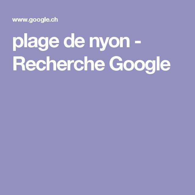 plage de nyon - Recherche Google