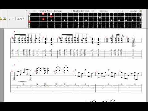 LEARN TO PLAY Metallica - Nothing Else Matters VIDEO GUITAR PRO / APRENDE TOCAR - YouTube