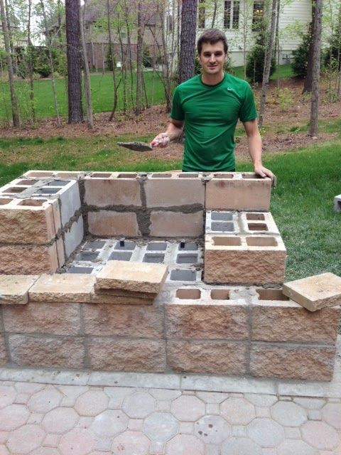 25 best ideas about diy outdoor fireplace on pinterest small fire pit small backyard patio. Black Bedroom Furniture Sets. Home Design Ideas