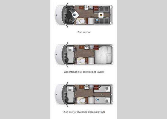 Roadtrek For Sale >> New Roadtrek Zion Zion Motor Home Class B for Sale | Review Rate Compare - RVingPlanet | R.V.s ...