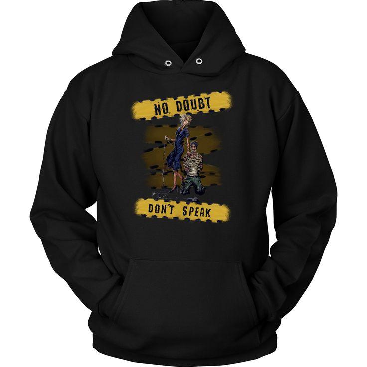 No Doubt - Don't Speak metal hoodie. USD 15.39 We ship worldwide! ---------------- metal head, black metal, metal fashion, band shirt, music