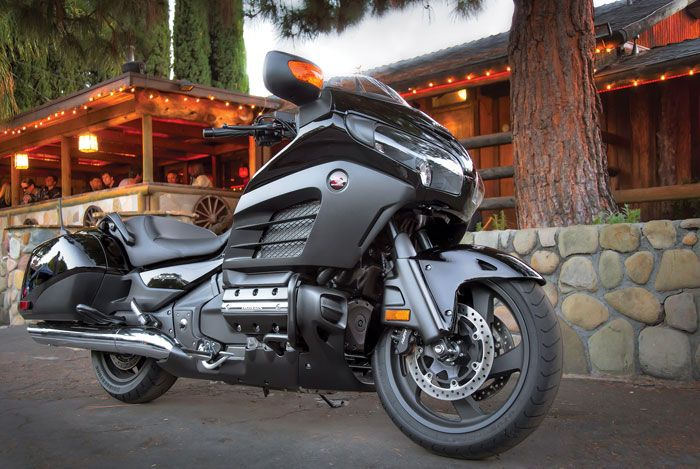 I Just Purchased one of thee most unique, gorgeous, beautiful cruiser ever, the 2013 Honda Gold Wing F6B Deluxe in black ... A Dream of Mine to Own a Goldwing After 35 years of Dreaming...