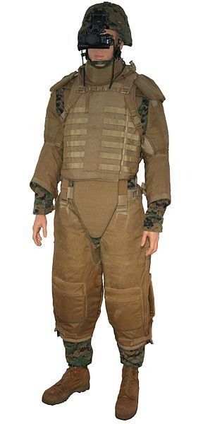 Interceptor body armor (IBA) is a bullet-resistant vest that was used by the United States Armed Forces from the late 1990s to the late 2000