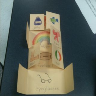 Compound Word Foldable. Activity for morphemic analysis lesson.