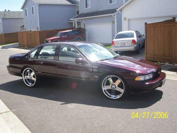 1996 Chevrolet Impala 4 Dr SS Sedan