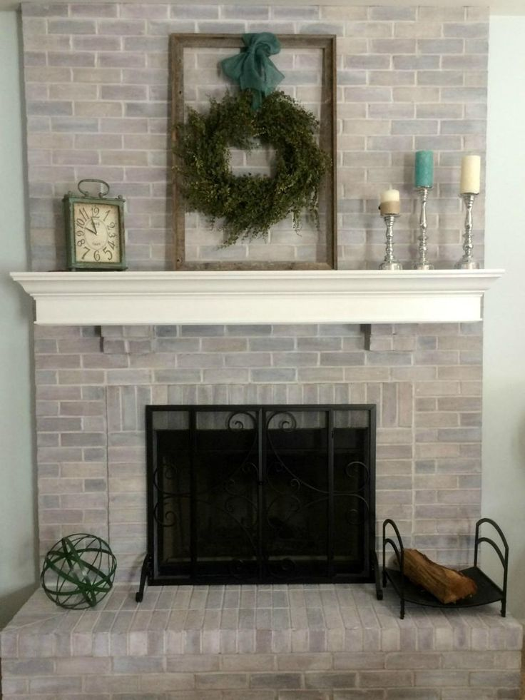 Fireplace Design painting brick fireplace white : Best 20+ Update brick fireplace ideas on Pinterest | Painting ...