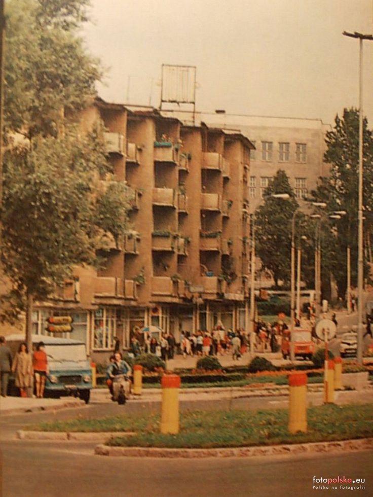 Pałacowa 4, Białystok - 1977 rok, stare zdjęcia