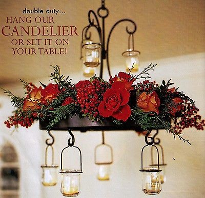 Southern Living At Home Old Taylor Estate Candle Chandelier Centerpiece *new*